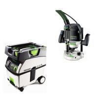 Festool OF 2200 EB Router   CT Midi Dust Extractor Package