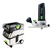 Festool MFK 700 Trim Router Set   CT Midi Dust Extractor Package