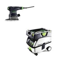 Festool DTS 400 EQ Orbital Finish Sander with CT MINI HEPA Dust Extrac