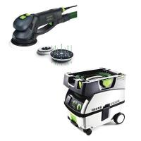 Festool RO 150 Rotex Sander with CT MINI HEPA Dust Extractor