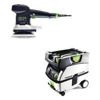 Festool ETS 150/3 EQ Random Orbital Sander with CT MINI HEPA Dust Extr