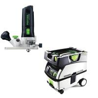 Festool MFK 700 Trim Router Set   CT Mini Dust Extractor Package