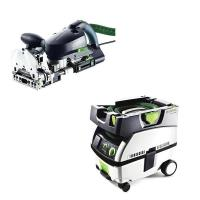 Festool DF 700 Q Domino   CT Mini Dust Extractor Package