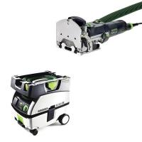 Festool DF 500 Q Domino Set   CT Mini Dust Extractor Package