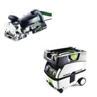 Festool DF 700 Q Domino Set   CT Mini Dust Extractor Package