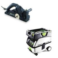 Festool  HL 850 Planer  CT Mini Dust Extractor Package