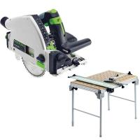 Festool TS 55 REQ Plunge-Cut Saw with MFT/3 Multi-Function Table