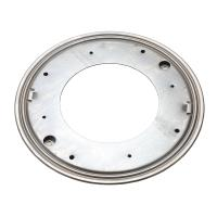 "Triangle Mfg Flat Round Lazy Susan, 12"", 5/16"" Thick Capacity 1000 lbs."