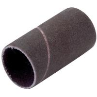 "Sanding Drum Replacement Sleeve, 1-1/2"" Dia. x 2"" Length, 80 Grit, 12 pack"