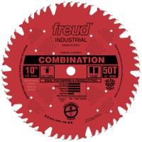 "Freud LU84R011 Perma-Shield Circular Saw Blade 10"" x 5/8"" Bore x 50 Tooth Combination"