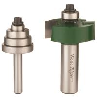 "WoodRiver Rabbet Router Bit Set 1/2"" SH"