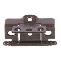 Amerock Dark English Cabinet Hinge, Full Wrap