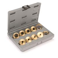 10 Piece Router Bushing Set With Case