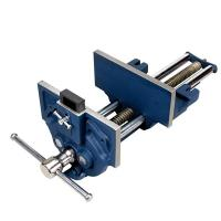 "Groz 7"" Quick Release Woodworking Vise with Quick Adjustment Trigger"