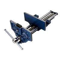 "Groz 9"" Quick Release Woodworking Vise with Quick Adjustment Trigger"